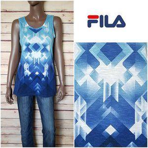FILA  Top White/Blue